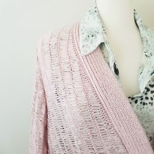 Chico's pink sweater